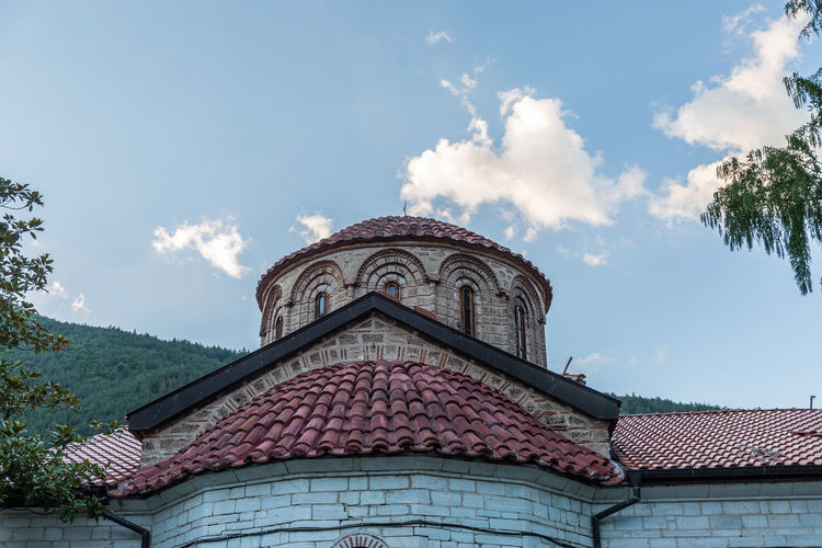 Architecture Church Monastery Spirituality Church Dome Clouds Dome History Old Religion Sky Tails