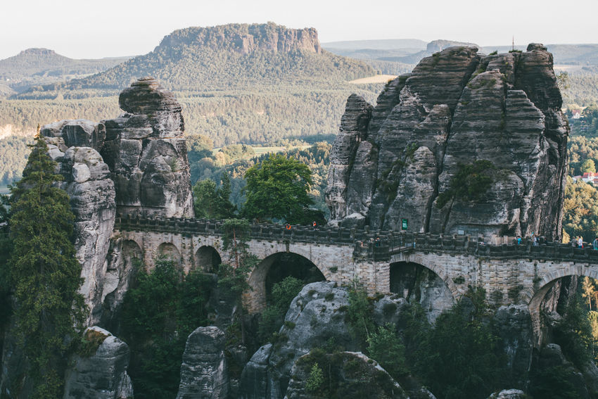 Elbsandsteingebirge Nationalpark Sächsische Schweiz Nature Bastei Basteibrücke Bridge Landscape Landscapephoto Landscapephotography Mountain Nature Naturephoto Naturephotography Rock Rock - Object Saxony Switzerland Sächsische Schweiz Tourism Travel Tree