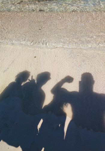 Telling Stories Differently Family Time Shadow Shadows & Lights Beach Peace Peace ✌