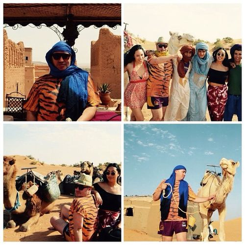 Im so happy cameras exist. Morocco Saharadessert Holiday