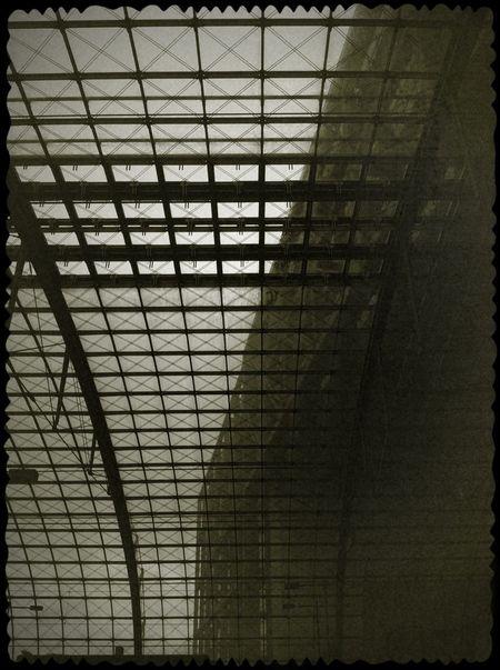 Admiring The Architecture  Lookingup Monochrome_Monday Vintage Fx