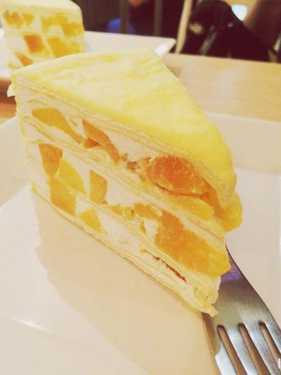 芒果蛋糕🍰 Mango Cake