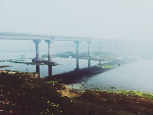 "When the dawn breaks ""under construction"" and with a lots of fog. ❤ Photography Love Winter Photooftheday Picoftheday Underconstruction  Fog WestBengal Allshotsindia Morning Walk Landscape Photographypassion Photography Photographyislifee Life Blue Color White Vscocam Instalove IGDaily Igers Igindia Igaddict instagram"