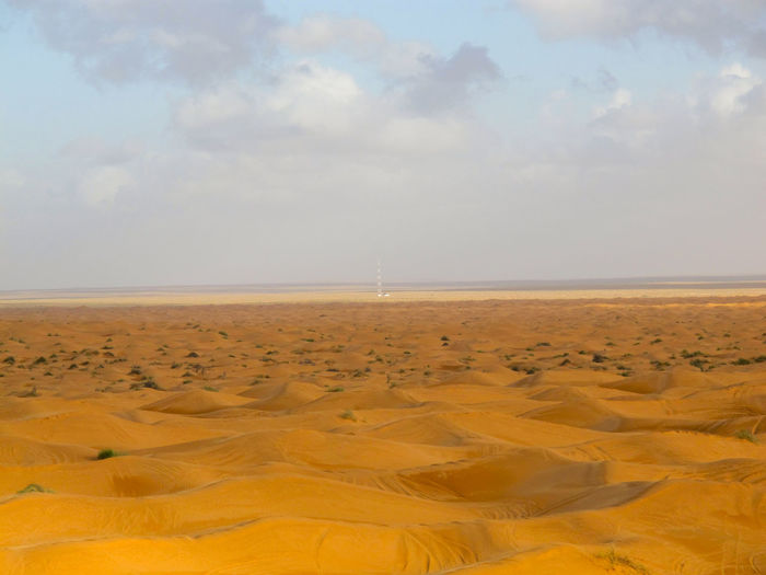 Tunisia travel holidays Sky Land Scenics - Nature Tranquility Cloud - Sky Horizon Tranquil Scene Environment Sand Nature Beauty In Nature Landscape No People Water Day Desert Horizon Over Water Sea Non-urban Scene Outdoors Climate Arid Climate