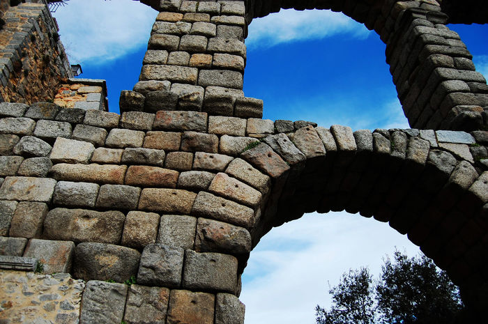 Blue Sky Travel Destinations City History Architecture No People Outdoors Ancient History Day Segovia Segovia,spain Acueducto-Segovia Acueducto