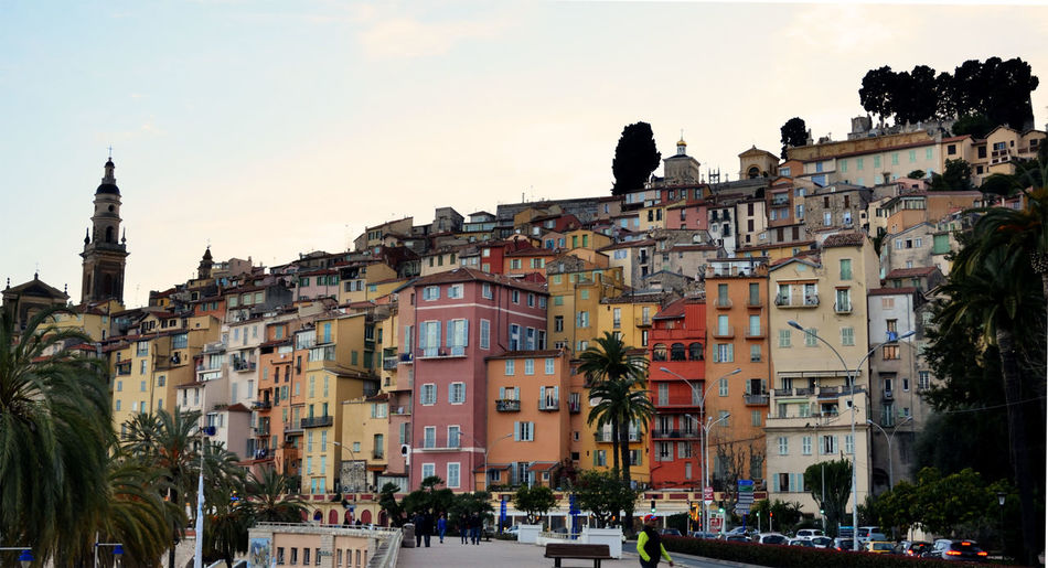 City of Menton - France France France🇫🇷 Menton Menton, France Architecture Building Building Exterior Built Structure Car City Crowd France 🇫🇷 Group Of People Incidental People Mode Of Transportation Motor Vehicle Nature Outdoors Plant Residential District Sky Sunset Town Transportation Tree