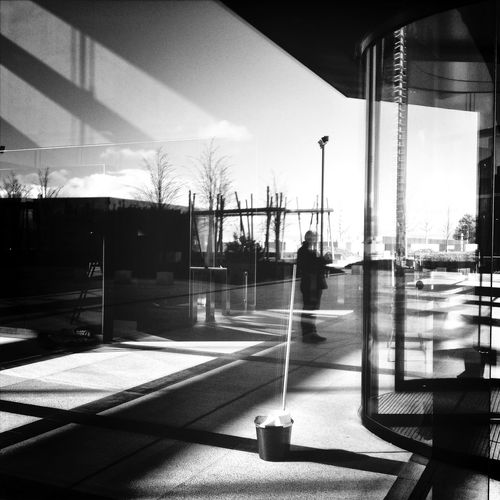 4 Torres Madrid 250114 Blackandwhite Streetphotography