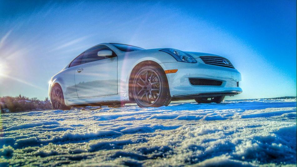 Infiniti Drifting on Frozen Lake was more Fun than i thought it would be. Mobilephotography Regina Beach