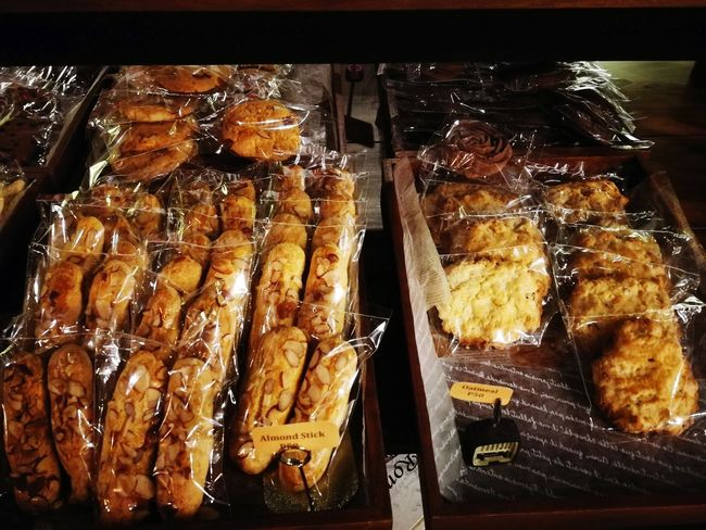 Almond Sticks and Oatmeal Cookies Cookies Almond Almond Stick Oatmeal Oatmeal Cookie Oatmeal Cookies Sweets Dessert Desserts Snacks! Cafe Cafe Sweet Close-up