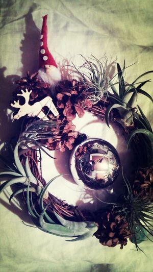 Cristmas クリスマスリース Merry Christmas! Handmade By Mein kamakura,japan