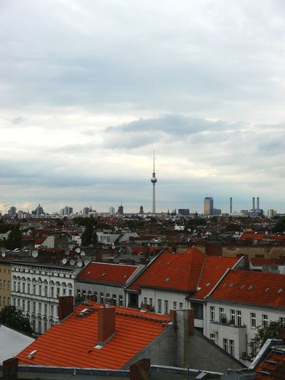 That view...or Thattoweragain Cityscape City Urban Skyline Roof Architecture Travel Destinations No People Outdoors Building Exterior Day Sky Berliner Ansichten Berlin