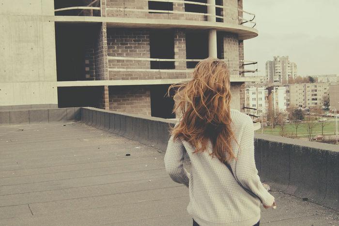 Running Noescape Rooftops