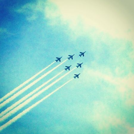 Blue Sky Blue Impulse Sky