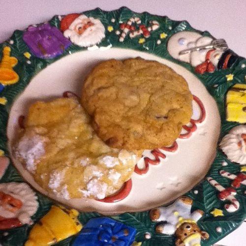 Day 24: Santas cookies (: some giant cookies yum Daytwentyfour Decemberchallenge