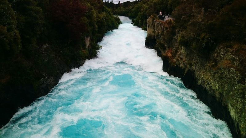 New Zealand Clear Water Glacier Water Lake Taupo Water Rapids