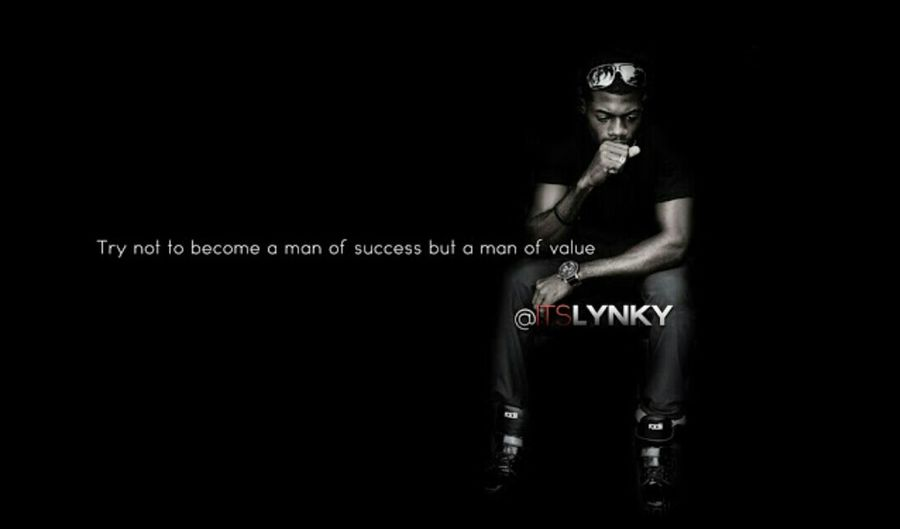 Try not to become a man of success but a man of value Itslynky Myworld Mywork Hello World