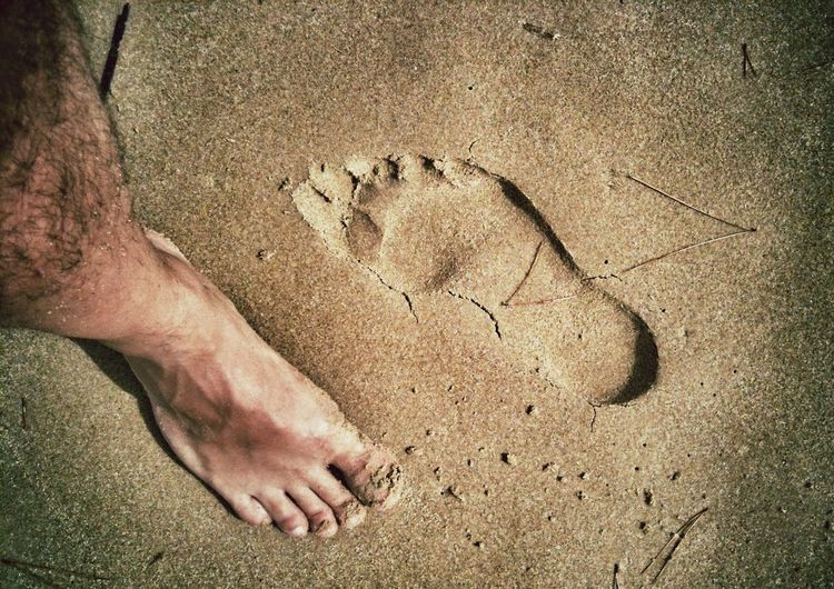 Different directions Foot Footprints Sand Emotions Life Enjoying Life Life Is A Beach Man Costa Sud - Sicilia Live For The Story Gianni Lo Turco