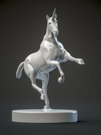 unicorn figure Fairytale  Figure Objects Statue Animal Horn Imaginary No People One Sculpture Studio Shot Unico