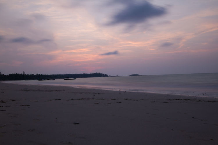 Thailand Travel Vacations Beach Beauty In Nature Cloud - Sky Day Landscape Long Exposure Nature No People Outdoors Photography Scenics Sea Sky Sunset Tranquil Scene Tranquility Water