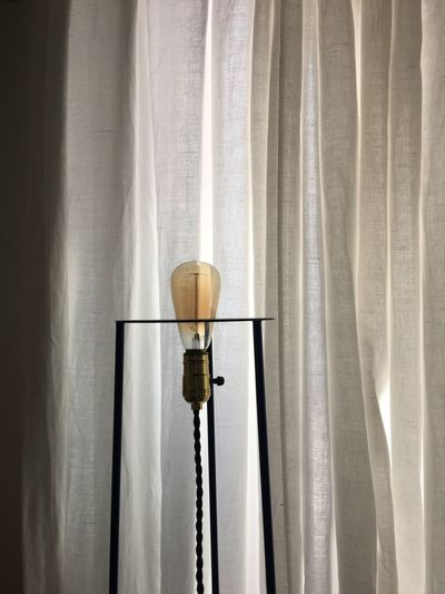 EyeEm Selects Curtain Indoors  No People Textile Lighting Equipment Wall - Building Feature Lamp Shade  Electricity  Low Angle View Home Interior Window Hanging Close-up Nature Day Electric Lamp Pattern Light
