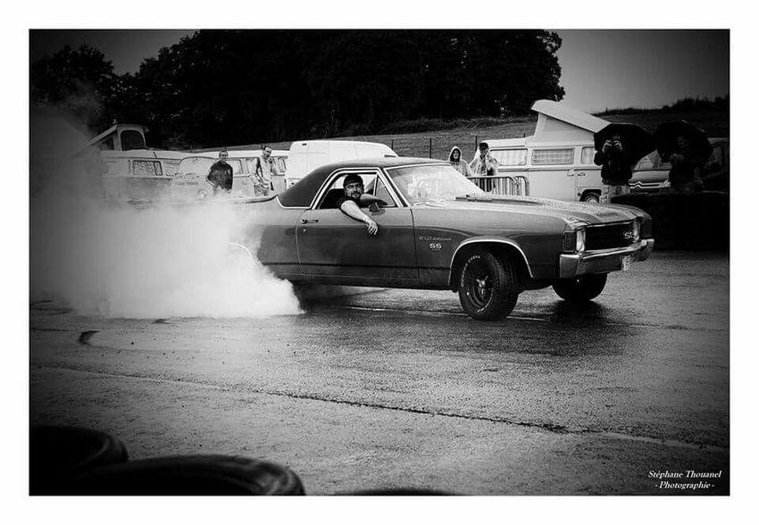 Noir Et Blanc Monochrome Rassemblement Des Voitures Anciennes Voiture Retro American Motor Hot Rods Vintage Cars 50's Style Voiture