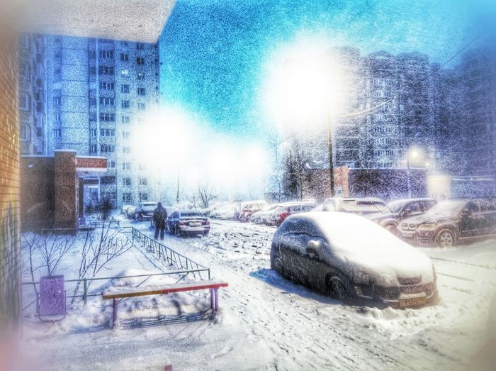 Russia is Rich in Winter Snow ⛄️❄️?? Cityscapes Taking Photos Hello World