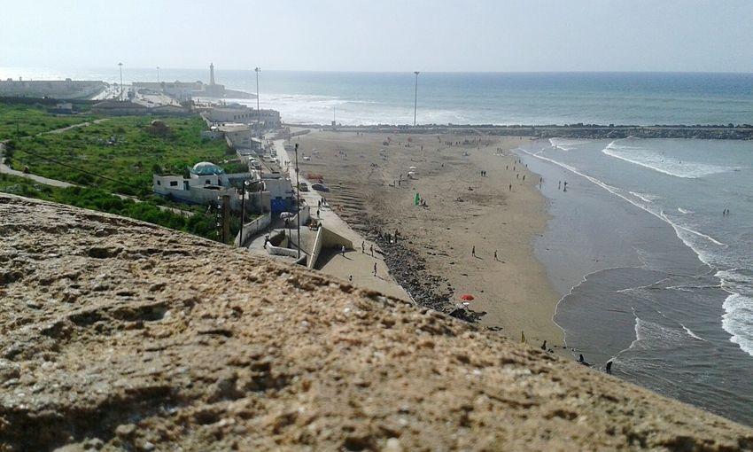 Eyeemphoto EyeEm Morocco 🇲🇦 Morocco Morocco Rabat Sunnyday☀️ Beachside Beachtime Beach Waves
