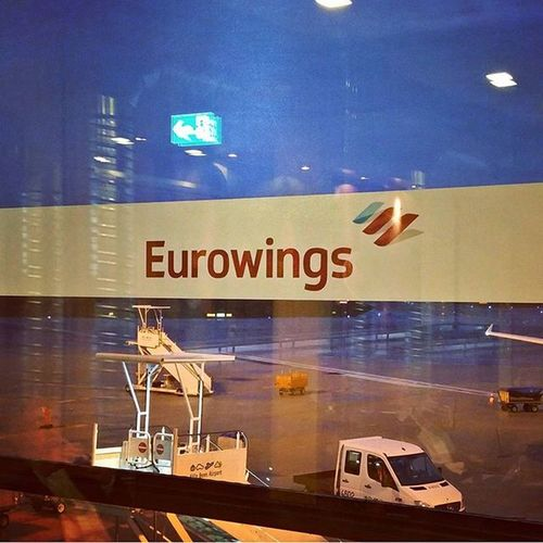 Meanwhile has CGN airport changed the design from @Germanwings to Eurowings .