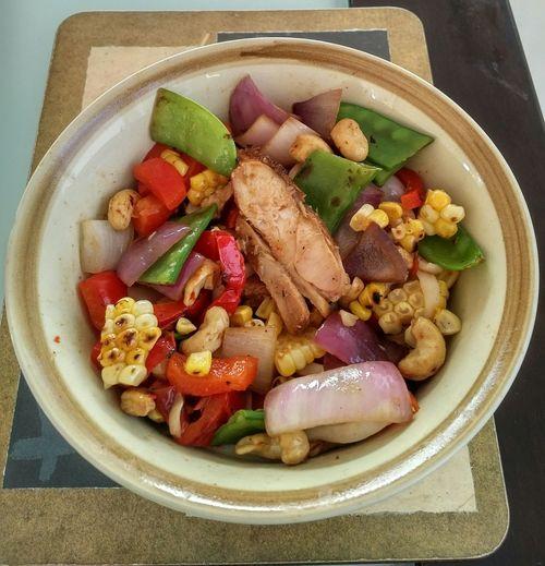 Food Vegetable Noodle Stir Fry Meal