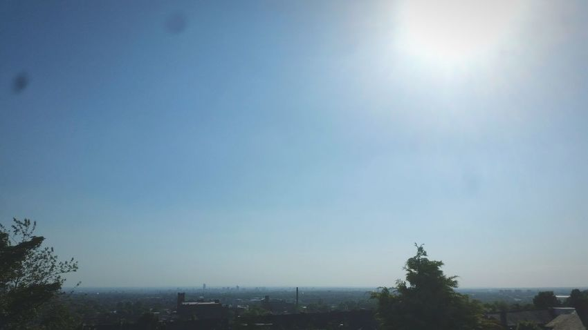 Sun View Shot Oldham City Awesome Tree Nature Amazing Wide Shot Fisheye HD Lens Sunny Sky Outdoors