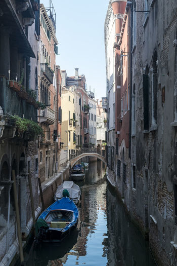 Architecture Built Structure Canal Canals And Waterways Gondola - Traditional Boat Mode Of Transport Nautical Vessel Outdoors Transportation Venice Water