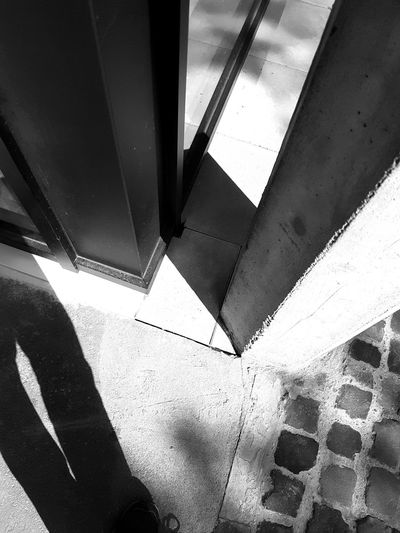 Schatten Architecture No People Close-up Black & White Architecture Smartphone Photography Soest Window Shadow