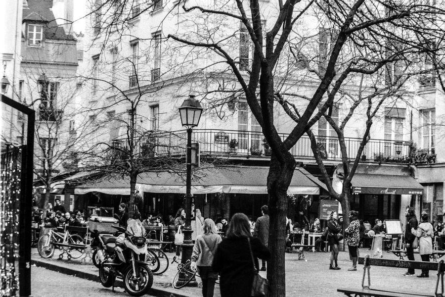 Parisian lifestyle Argentique Silver  Vintage Vintage Photo