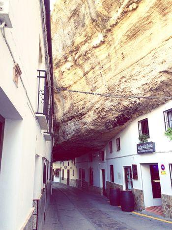 Setenil Spain Travel Destinations Building Exterior Tourism Vacations No People