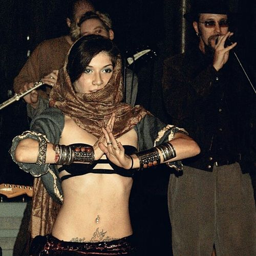 Bellydance Bellydancer Tribal Phsycedelic Performing Love It