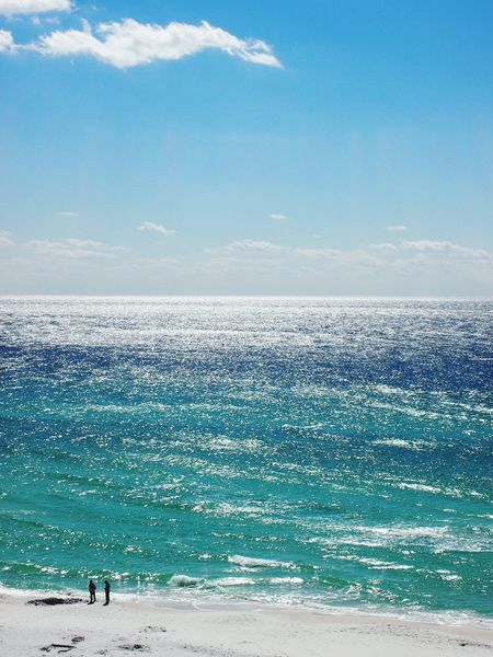 Ocean Ocean View Emeraldcoast Tuquoise Water Sunlight Sunlight On Water Beach Oceanfront Sand Nature Beauty In Nature Beautiful Awe Inspiring Majestic Vastness Winter Ocean Winter Water Beachscape White Sand Green Water