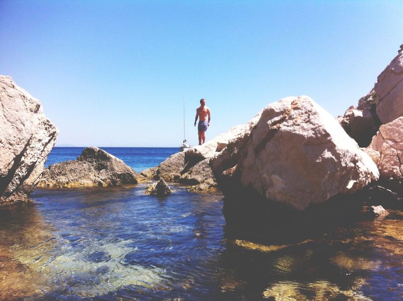Calanques  Marseille France Summertime