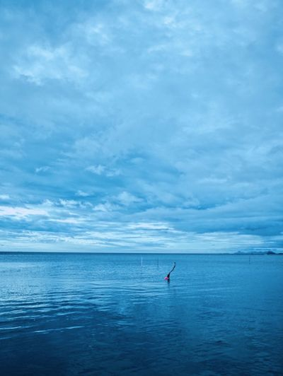 Water Sea Sky Beauty In Nature Cloud - Sky Scenics - Nature Horizon Over Water Horizon Tranquility Waterfront Blue Tranquil Scene Day Nature Outdoors Non-urban Scene