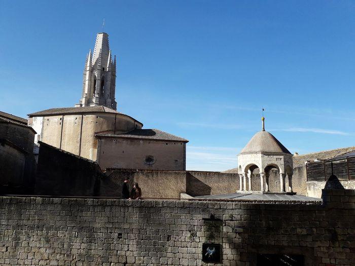 Girona Catalunya Catalonia Barri Vell Architecture Sky Spirituality