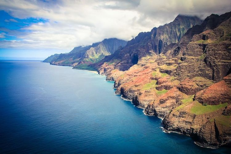 Napali Coast Kauai Hawaii First Eyeem Photo
