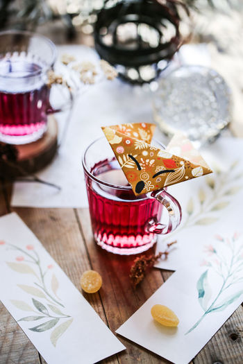 A bird can be refolded into a boat, a fox, a fish..... Moments Of Life Moments Of Mine Papper Papper Craft Origami Tea Tea Time Still Life Life Style Life Story On My Table Flat Lay Food Table Drink Glass High Angle View No People Close-up Drinking Glass Food And Drink