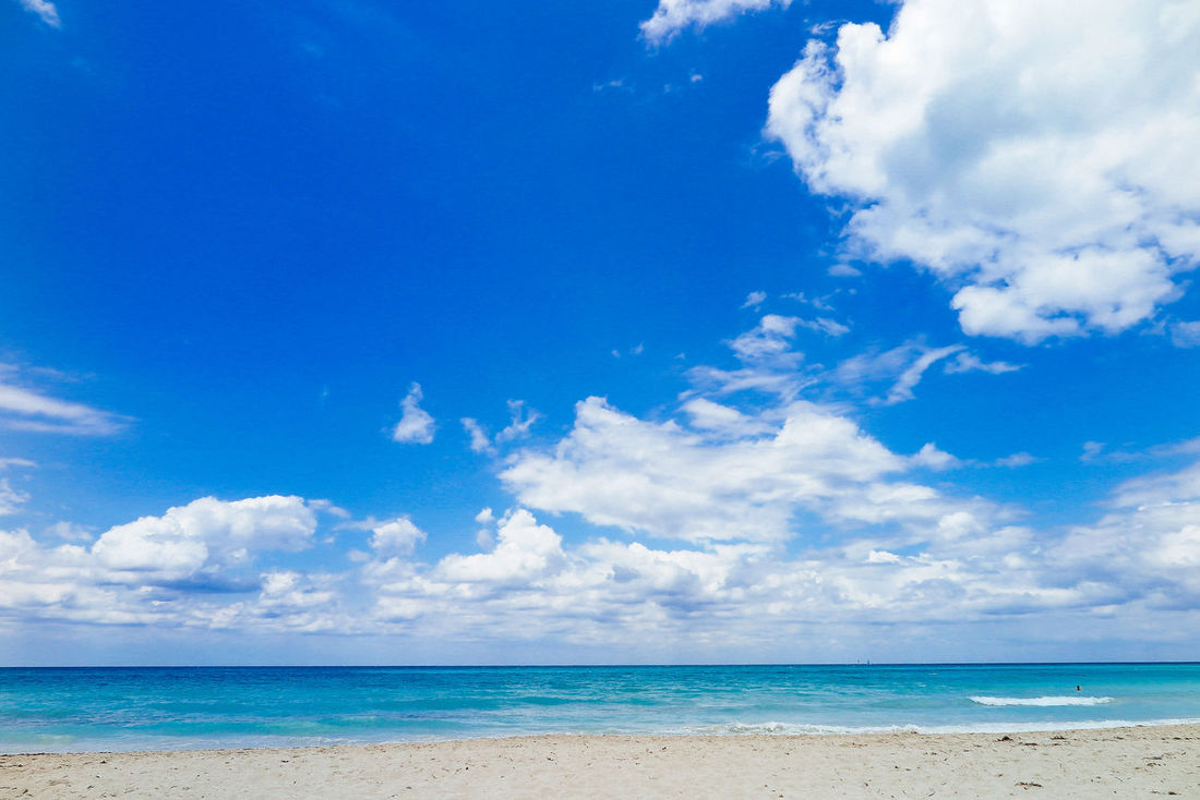 Beach Beauty In Nature Blue Cloud - Sky Cuba Horizon Over Water Nature Scenics Sea Sky Varadero