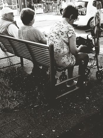 People Photography People On The Street People Portrait People Sitting Old People City Life City Street Street Photography Street Life Black And White Photography Black And White Portrait Black And White Collection  Wonderful Life My City End Of Summer Relax Black And White Collection  People_collection Monochrome Photography Galaxy S7 Edge