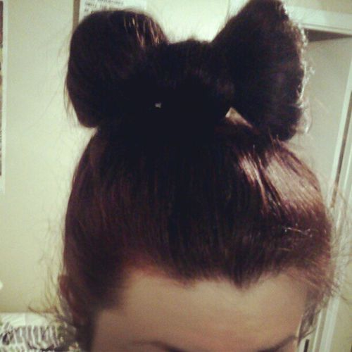 Learned this today Hairbow Easy
