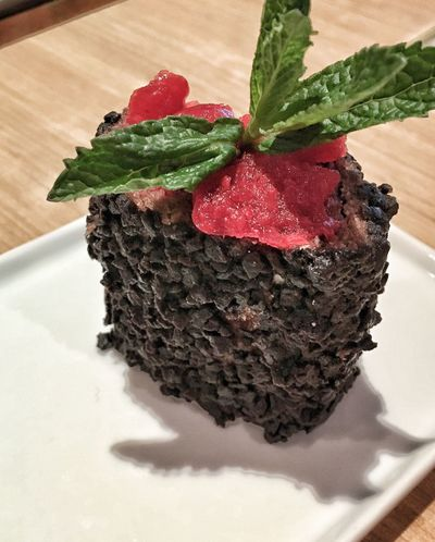 Chocolate cake,teatime