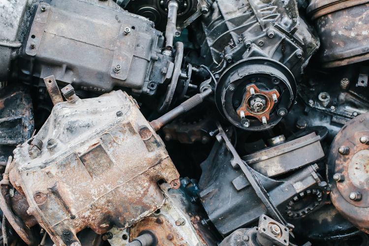 Full frame shot of engine