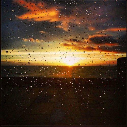 Rainy days... Rain RainyDay Drops Afterrain Sunset Sunsetlovers Sunsetporn Cloudporn Skyporn Sky Horizon Rambla Sea Instalike Igers Igersuruguay Igeruy Uruguaypais Uruguaynatural Audiovisualuruguay World_bestsunset