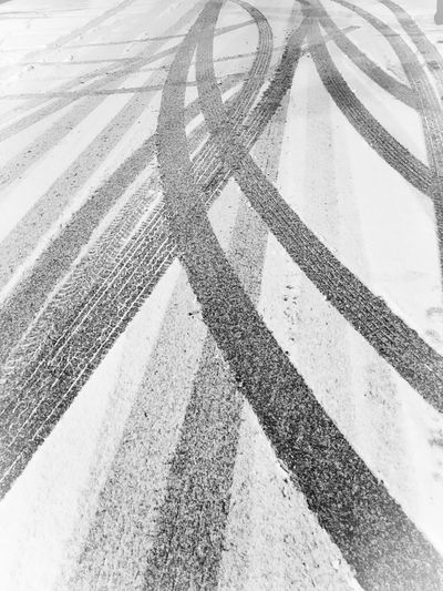 Paths well traveled Outdoors Snow