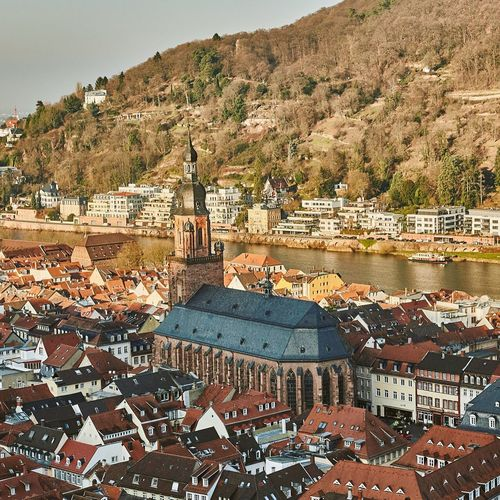HEIDELBERG GERMANY Architecture Built Structure Germany Heidelberg History ClayHaynerPhoto Landscape Travel Photo Of The Day Photography Exploring Church Travelphotography Clay Hayner Photo Travel Destinations Travel Photography Photooftheday From Above  Traveling Rhine River Architecture Outdoors No People Travelgram Beautiful
