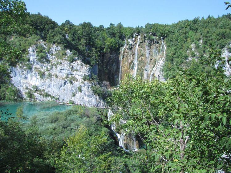 Nature Plitvice National Park Plitvicelake Waterfall